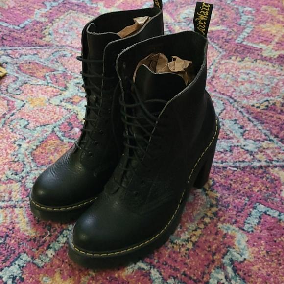 Dr. Martens High Heeled Boots